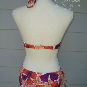 Old Navy Swim - Old Navy Africa UV Band Warm Floral Swimming Suit